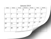 2013 Calendar (12 pages)
