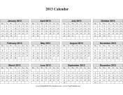 Single page (horizontal, week starts on Monday)